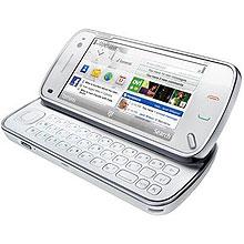 Aparelho Nokia N97, o primeiro da Nseries da Nokia a integrar o serviço de telefonia Skype